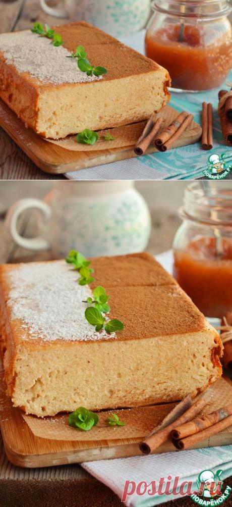 Творожная запеканка с повидлом и корицей – кулинарный рецепт