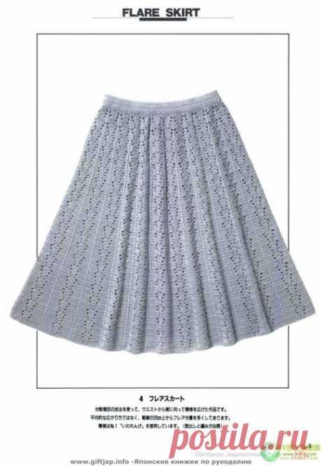 Много узоров крючком (+ расширение полотна детским юбочкам)
