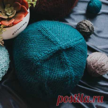 Самый универсальный и простой способ закрытия макушки шапки. Бесплатное подробное описание + бонус. | Ксения Kukanchik | Яндекс Дзен