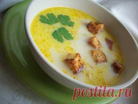 Суп из плавленных сырков | Время обедать