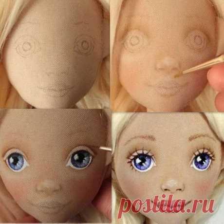 Выкройки кукол для начинающих поэтапно