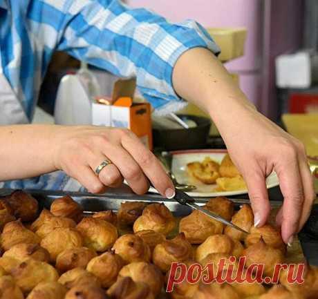 Как приготовить вкусные профитроли, которые всегда получаются - мои правила! | Рецепты и советы - Мария Сурова | Яндекс Дзен