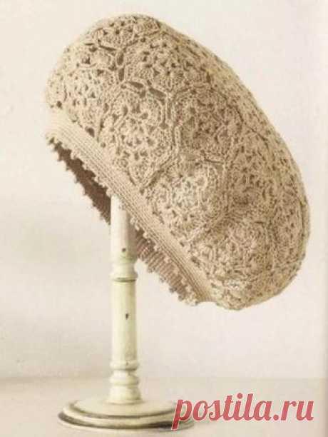 Красивые вязаные шапочки.