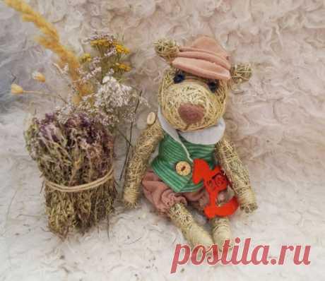 Игрушки из сена Елены Наревской