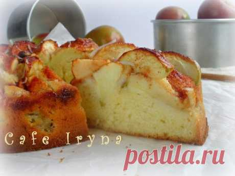 Яблочный пирог от бабушки Эммы...