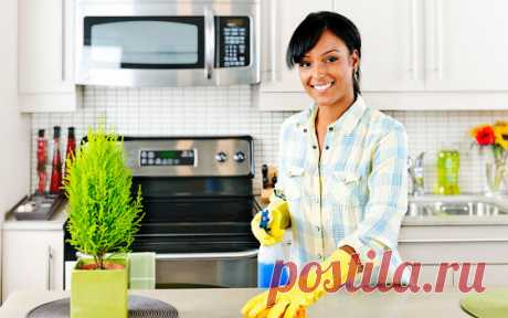 Генеральная уборка кухни. Бабушкины советы