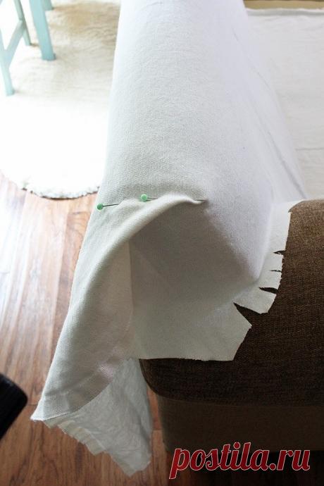 Как сшить чехол для дивана: 3 мастер-класса