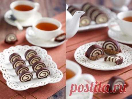 Рулет без выпечки от LA PERLA  Ингредиенты:... / Еда и напитки / Рецепты / Pinme.ru