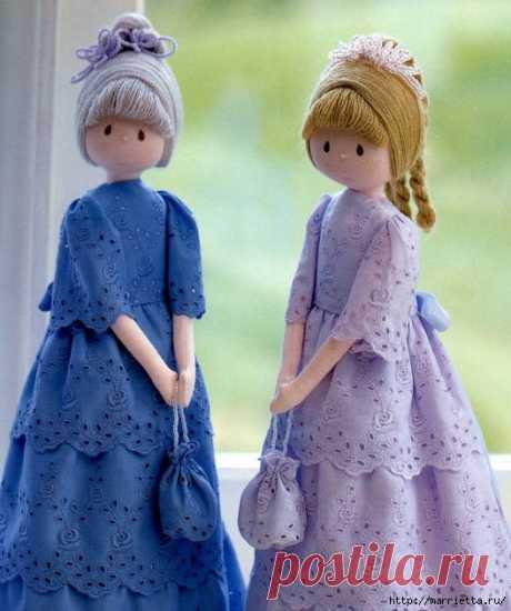 Отличный журнал по пошиву замечательных куколок