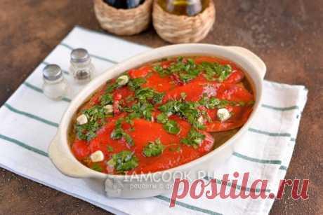 Овощной тьян из баклажанов и болгарского перца — рецепт с фото пошагово