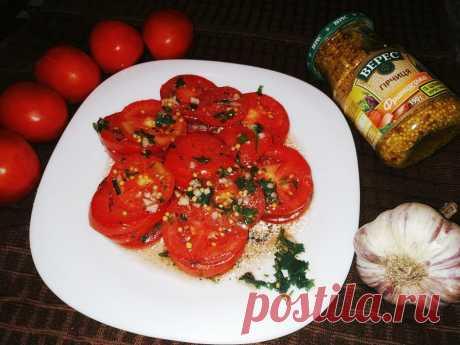 Маринованные помидоры по-итальянски Вкусные маринованные помидоры по-итальянски - это прекрасная, свежая и ароматная закуска, которую очень легко приготовить в домашних условиях по данному рецепту. Такую закуску можно подавать к основному мясному блюду, просто на перекус или с хлебом. Сделайте закуску в самый разгар вкусных и мясистых помидоров и наслаждайтесь ее вкусом!