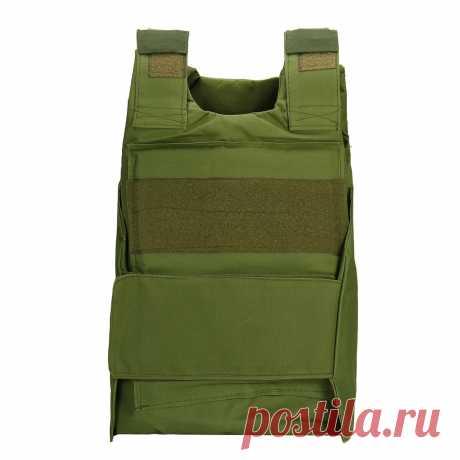 Tactical vest outdoor equipment army military lightweight combat play vest nylon Sale - Banggood.com