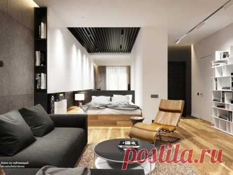 Квартира для холостяка площадью 36 кв.м Авторы проекта - Никитина Виолетта и Филиппова Янина