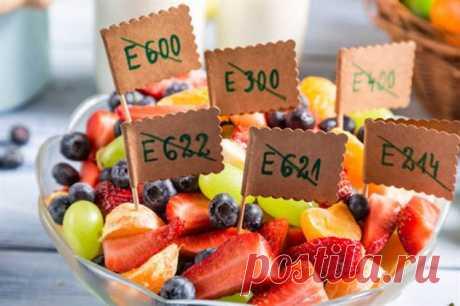 «Не ешь меня!» — пищевые добавки от которых стоит держаться подальше | Люблю Себя