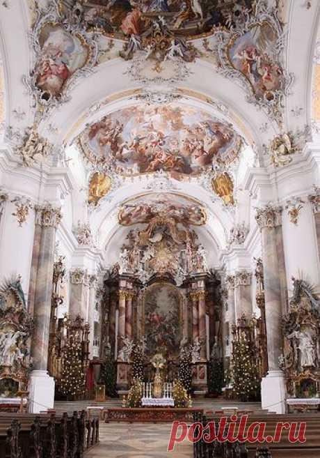Ottobeuren Abbey, Germany  (by Baubo Bittern)  |  Pinterest • Всемирный каталог идей