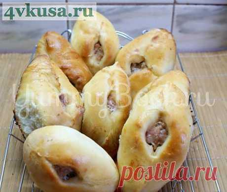 Расстегаи с мясом | 4vkusa.ru