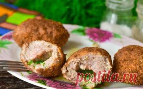 Котлеты по-киевски из свинины