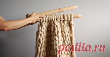 All ingenious is simple or What to connect from a huge yarn - the Fair of Masters - handwork, handmade