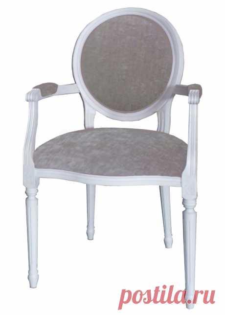 LN36-B Стул - кресло с подлокотниками прованс купить | Уголок Прованса +7 (499) 390-04-39