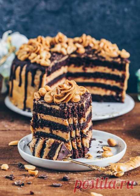 """Староанглийский домашний торт """"Поцелуй негра"""""""