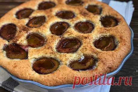 Пирог со сливой рецепт – европейская кухня: выпечка и десерты. «Еда»