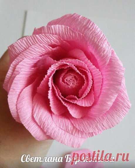 Мастер-класс объемной розы — Сделай сам, идеи для творчества - DIY Ideas