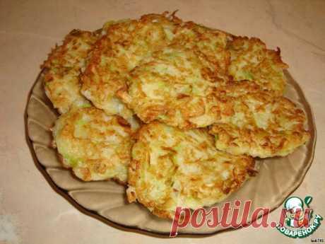 Оладьи из кабачков и капусты – кулинарный рецепт