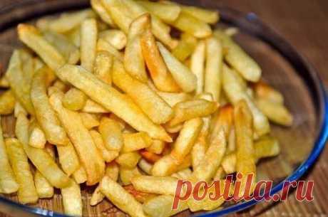 Вкусный картофель фри в духовке..