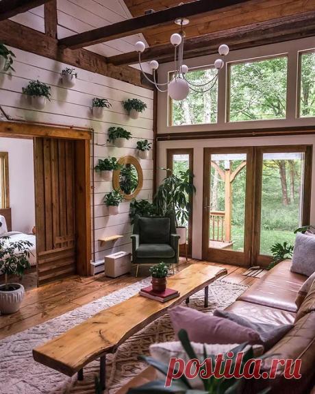 6 классных домиков, где хочется провести осень | ИДЕИ ВАШЕГО ДОМА | Яндекс Дзен