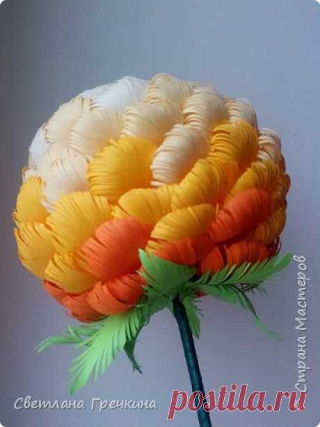 ""\""""El crisantemo"""" del papel  el País de los Maestros""