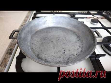 Мне уже за 50, а я только сейчас узнала, как сделать старую советскую сковороду антипригарной
