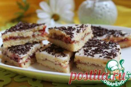 Печенье малиновое - кулинарный рецепт
