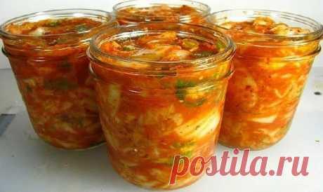 La ensalada con los calabacines «T±schin la lengua» \u000d\u000aPara la preparación понадобится:кабачки 2 kg (limpiado de las semillas y la piel) los tomates - 1 kgbolgarsky el pimiento-3-4 shtchesnok — 2 golovkiostryy el pimiento — 1 struchokrastitelnoe el aceite — 1 stakansol - 2-3 mesa lozhk …