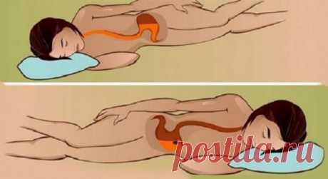 Вы знаете,что происходит,когда вы спите на левом боку? — Мир интересного