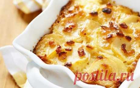 Картошка в духовке с майонезом / Простые рецепты