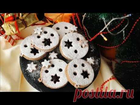 Новогоднее Песочное Печенье «Ёлочная Игрушка» Рецепт 🌟🎄 Christmas Cookies 🌟🎄 - YouTube