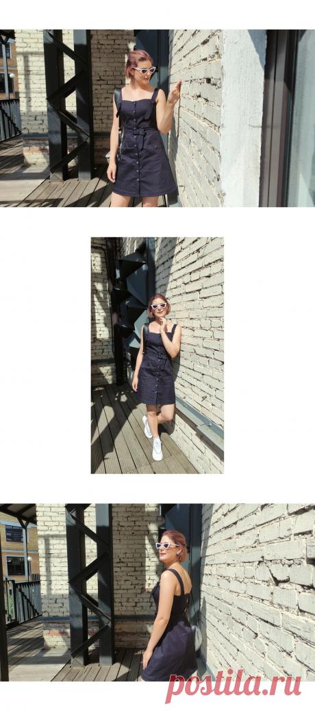 Сшила новый джинсовый сарафан! | Яна Левашова Дизайнер | Яндекс Дзен