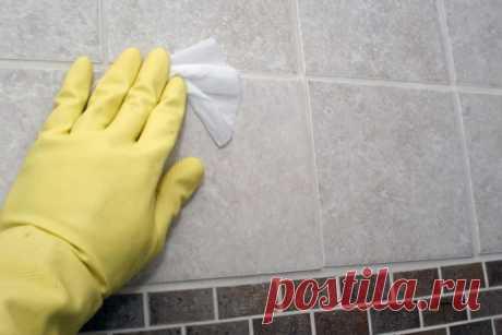 Как очистить швы между плиткой в ванной