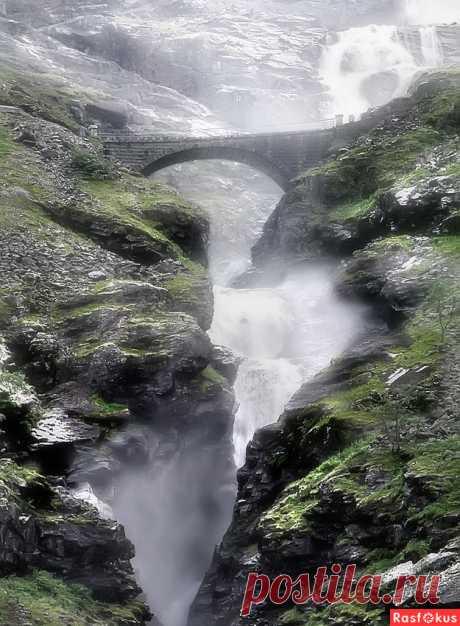 Фото: Норвежские водопады.... Фотограф Валерия Струнникова. Панорама - Фотосайт Расфокус.ру