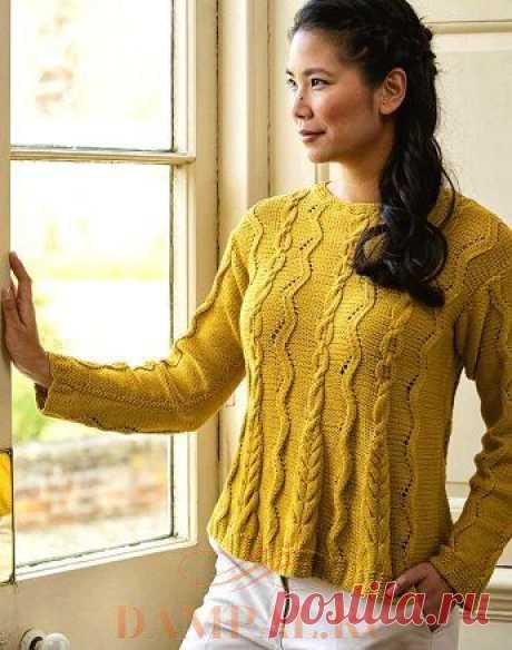 Вязаный пуловер «Котердейл» — HandMade