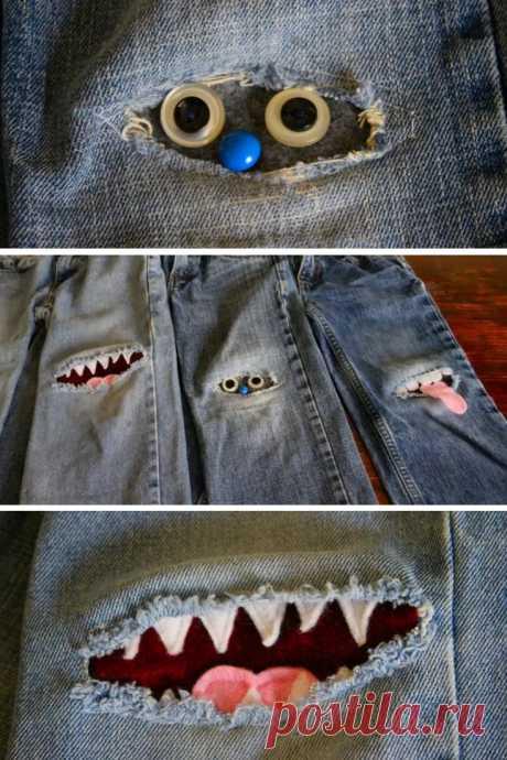 15 удивительных идей по ремонту джинсовых заплат, которые в основном волшебны!