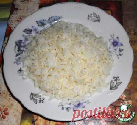 Рис с большой буквы - кулинарный рецепт