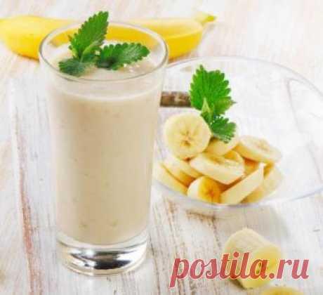Банан от кашля детям и взрослым - с молоком, медом, какао и другие варианты