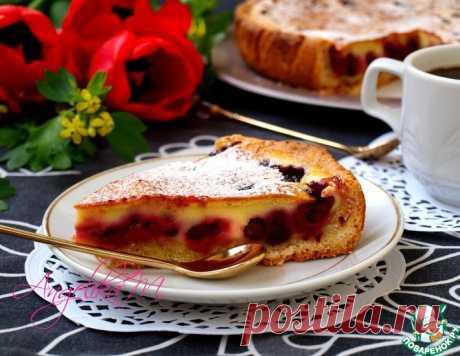 Заливной пирог с ягодами – кулинарный рецепт