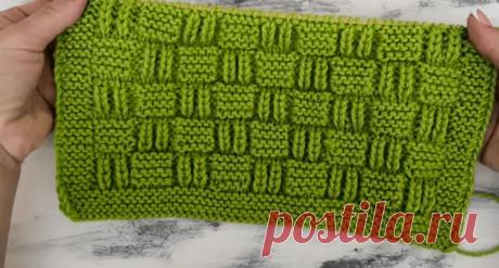 Рельефный узор спицами для пледа, свитера, кардигана, джемпера (Вязание спицами) – Журнал Вдохновение Рукодельницы