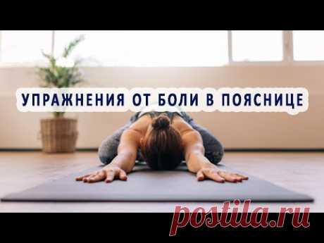 Какие упражнения устраняют боли в пояснице?