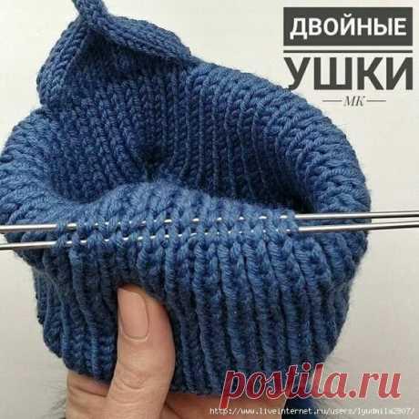 Полезности при вязании шапок спицами   Модное вязание   Яндекс Дзен