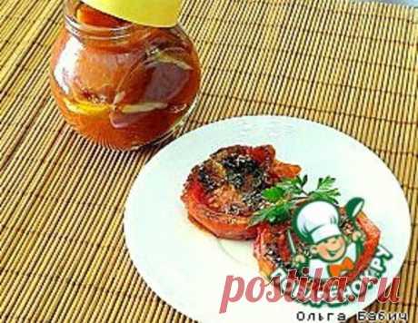 Вяленые томаты из микроволновки – кулинарный рецепт