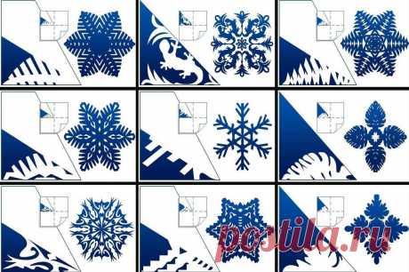 250+ невероятно красивых идей для снежинок из бумаги: трафареты для вырезания! Не знаю, как вы, а я в детстве просто обожала делать снежинки! Уже в первых числах декабря я вооружалась бумагой, ножницами и креативила вовсю. Снежинки для вырезания я придумывала сама, даже не испол…
