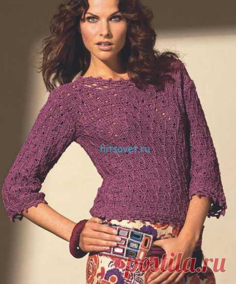 Вязание спицами для женщин с описанием и схемами - Страница 278 из 394